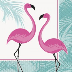 Servetter Rosa Flamingo