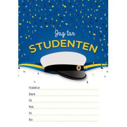 Inbjudningskort Studenten