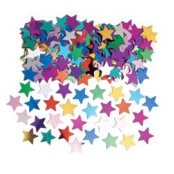 Konfetti Stjärna Multi