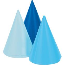 Partyhattar Mini Blå