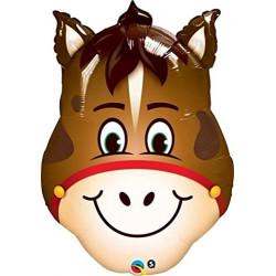 Folieballong Hästhuvud