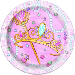 Pink Princess Assietter