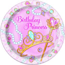 Pink Princess Tallrikar