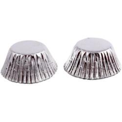 Bakformar Mini Silver