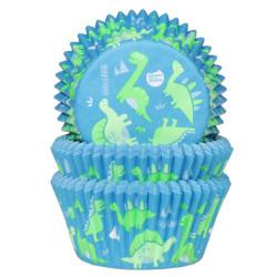 Muffinsformar Dinosaurie