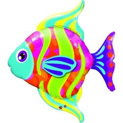 Folieballong Tropisk Fisk