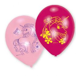 Ballonger Vit Enhörning