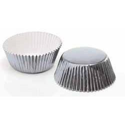 Muffinsformar Silver Mellan