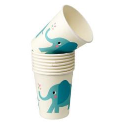 Blå Elefant Muggar