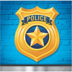 Kaffeservett Police