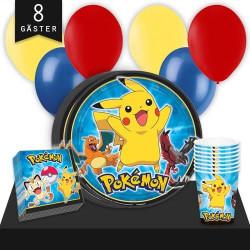 Kalaspaket Pokémon Enkel 8 pers