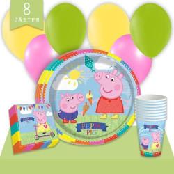 Kalaspaket Peppa Pig Enkel 8 pers