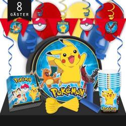 Kalaspaket Pokémon Lyx 8 pers