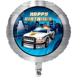 Folieballong Police