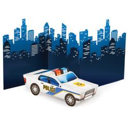 Bordsdekoration Police