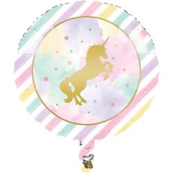 Enhörning Sparkle Folieballong
