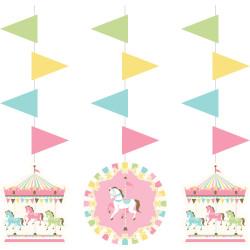 Girlanger 5-pack Karusell