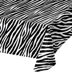 Plastduk Zebra