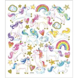 Klistermärken Unicorn