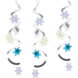 Girlanger med Snö 5-pack