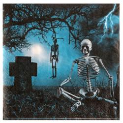 Servetter Haunted Black Halloween
