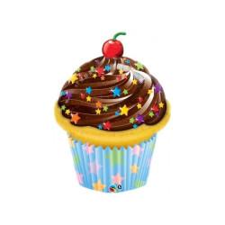Folieballong Cupcake