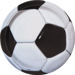 Tallrikar Fotboll Svart/vit
