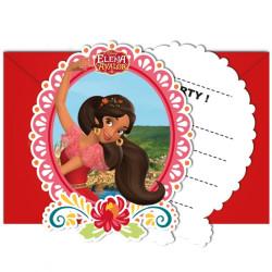 Elena från Avalor Inbjudningskort