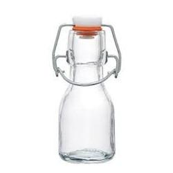 Glasflaska Mini med snäpplock