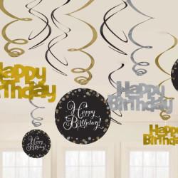 Girlanger Happy Birthday 12-pack