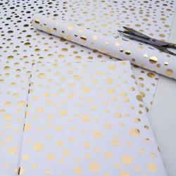 Presentpapper Guld Confetti