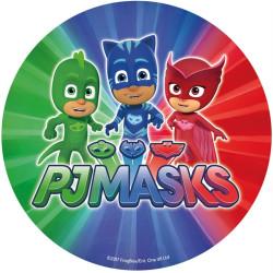 Tårtbild Pyjamashjältarna