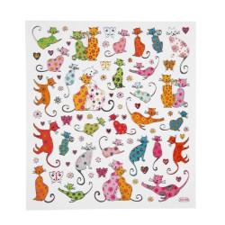 Klistermärken Katter