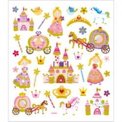 Klistermärken Prinsessa