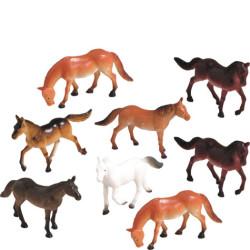 Hästar Plastdjur