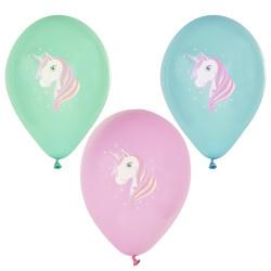 Ballonger Pastell Enhörning