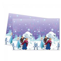 Plastduk Frost Snowflakes