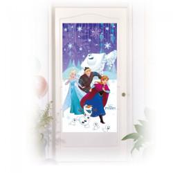 Dörrdekoration Frost Snowflakes