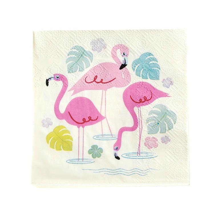 Kaffeservett Flamingo Bay