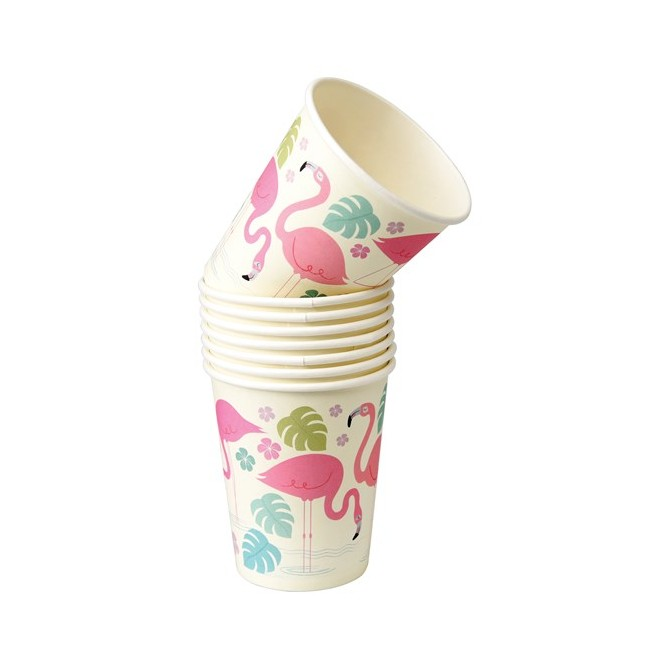 Pappersmugg Flamingo Bay
