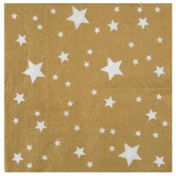 Servetter Guld Star