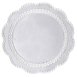 Tårtpapper Silver