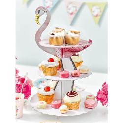Muffinsställning Flamingo