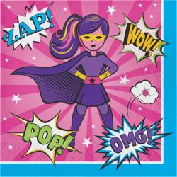 Super Hero girl  Servetter
