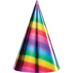 Partyhattar Rainbow
