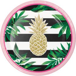 Assiett Ananas Foil
