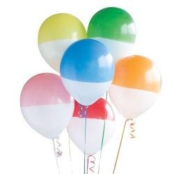 Tvåfärgade Ballonger