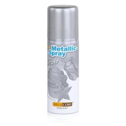 Ätbart Metallicspray Silver