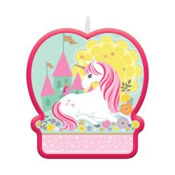 Tårtljus Magisk Enhörning