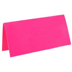 Placeringskort Neon Rosa